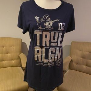 True religion sz ZL navy blue and silver